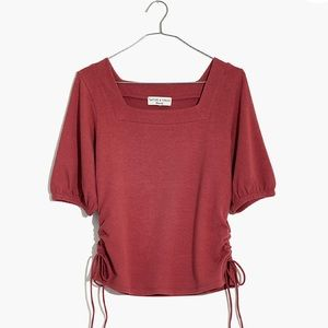 Sweaters - Madewell Square Neck Top NWT